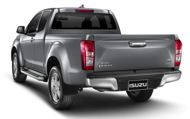 2016 Isuzu Dmax Double Cab rear side