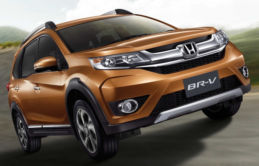 Honda BR-V goes on sale in Thailand – five- and seven-seat variants offered, starting from RM86,600 Image #436302