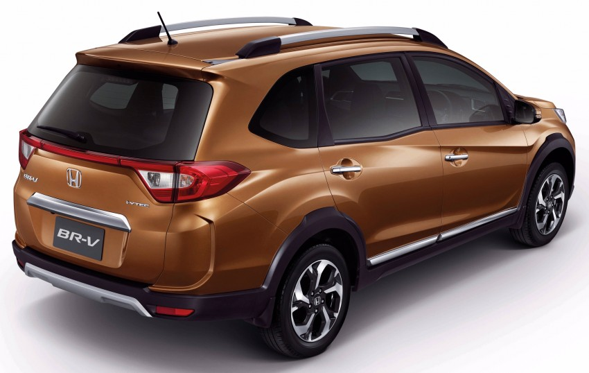 Honda BR-V goes on sale in Thailand – five- and seven-seat variants offered, starting from RM86,600 Image #436305