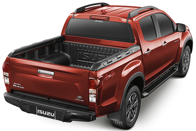 Isuzu D-Max V-Cross updated in Thailand – new six-speed automatic, enhanced styling, more safety Image #554400