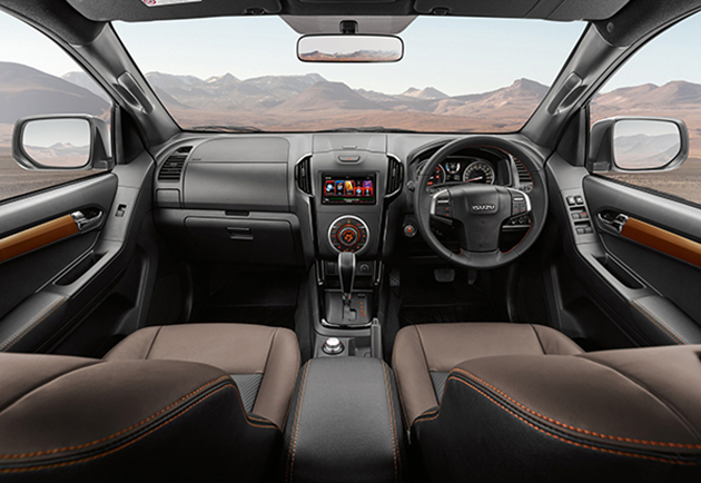 Isuzu D-Max V-Cross updated in Thailand – new six-speed automatic, enhanced styling, more safety Image #554401