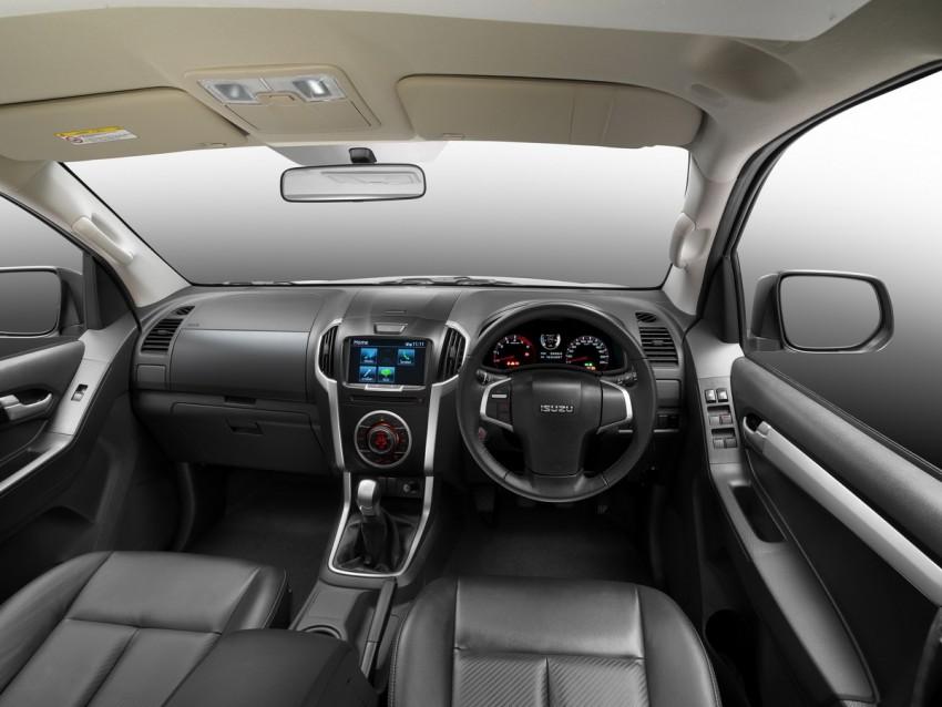 Isuzu D-Max facelift – Thailand gets new 150 hp 1.9 Ddi Image #401720