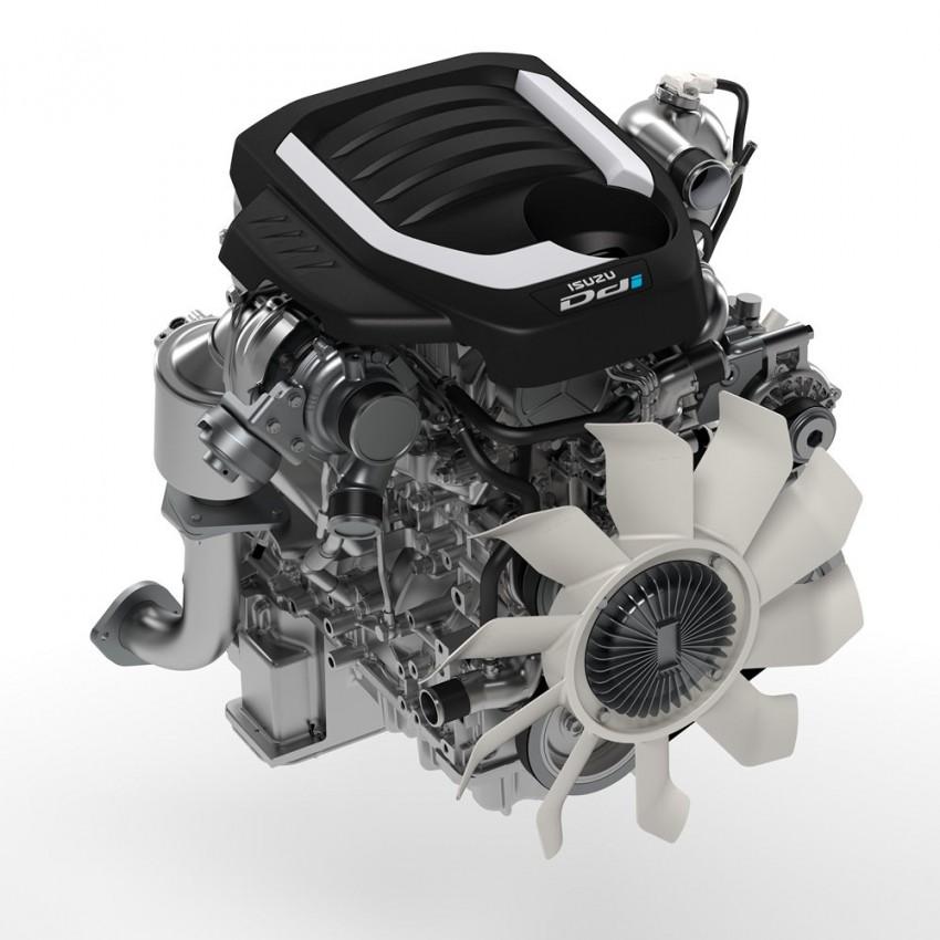 Isuzu D-Max facelift – Thailand gets new 150 hp 1.9 Ddi Image #401722
