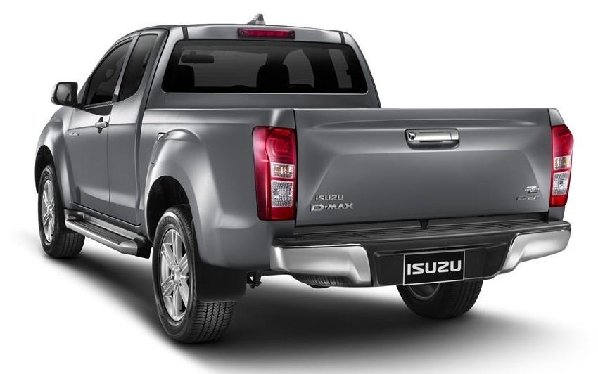 Isuzu D-Max facelift – Thailand gets new 150 hp 1.9 Ddi Image #401711