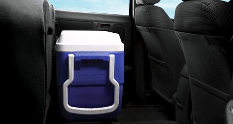 rear tip up seat of Toyota Hilux Vigo