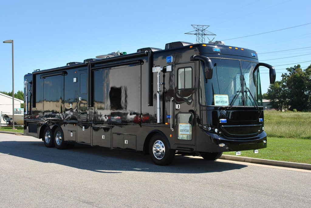 Mobile Command vehicles for Jamaica, Americas and the world
