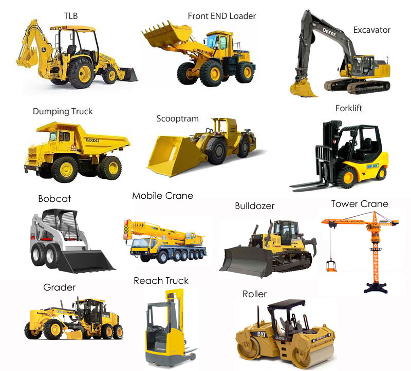 construction vehicles, construction equipment or earth moving equipment on sale for Suriname