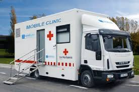 Mobile Clinics ready to go. Mobile Clinic for export from Thailand, Australia, United Kingdom, Hong Kong, Japan and Singapore to Trinidad and Tobago