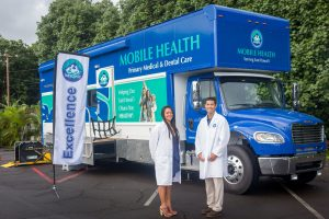 Mobile Clinics Suriname can be built on large trucks